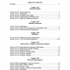 Table of Contents for Ordinance 2008-05.